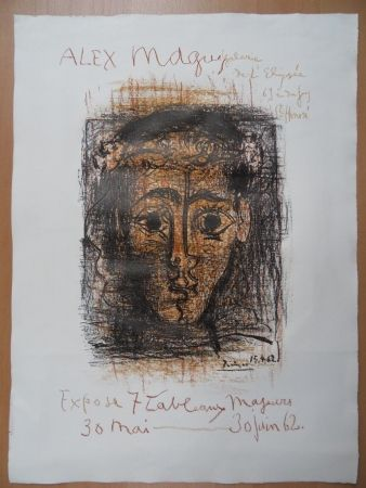 Litografía Picasso - Alex Maguy 1962