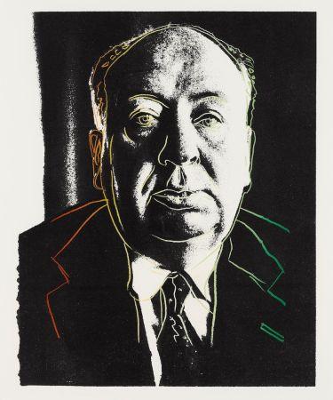 Serigrafía Warhol - Alfred Hitchcock