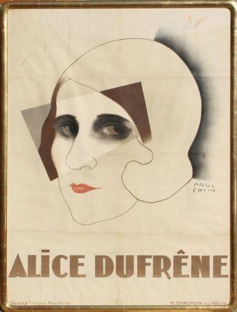 Litografía Colin - Alice Dufrene