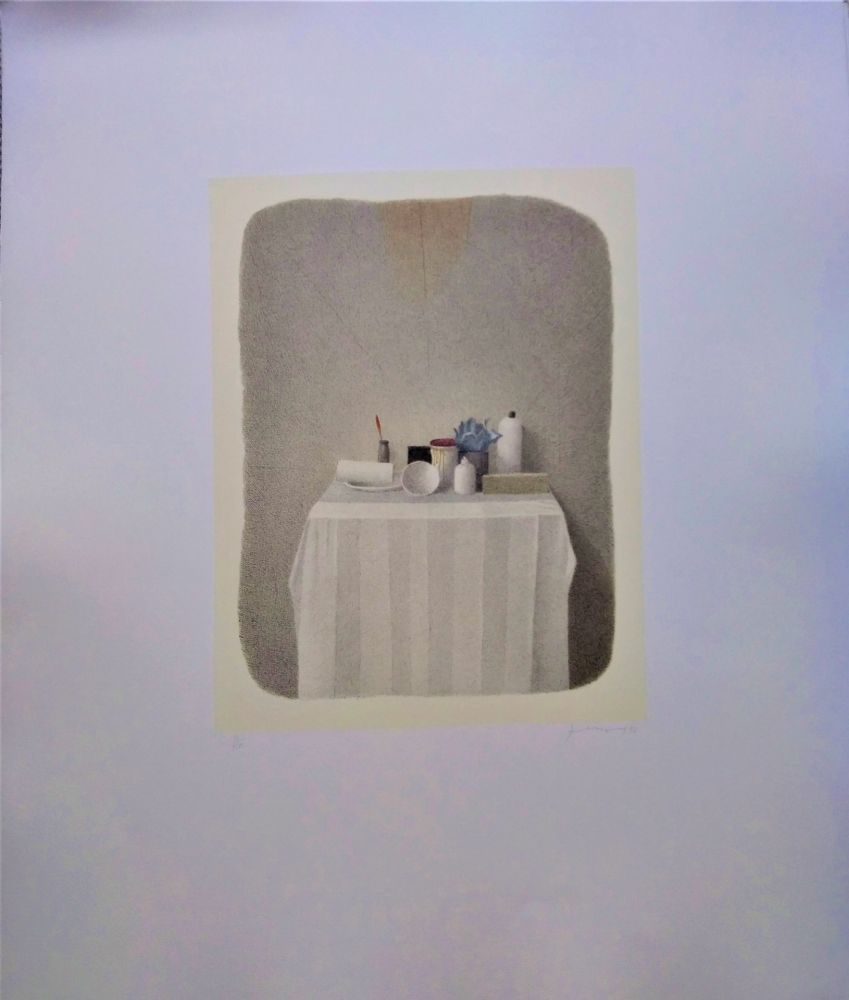 Litografía Ferroni - Altarino laico