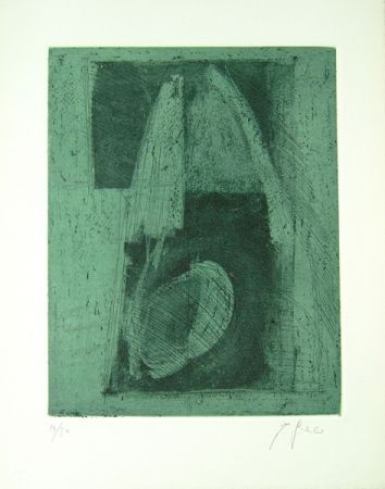 Litografía Greco - Alterego considera lo spazio