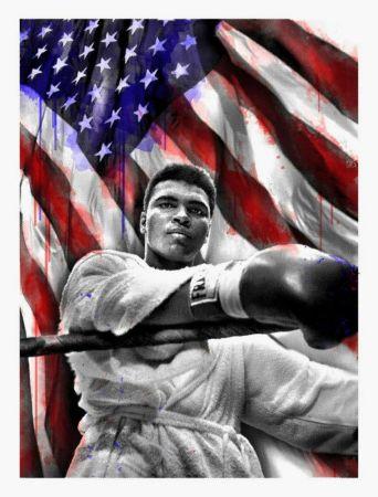 Múltiple Mr Brainwash - American Hero (Ali)