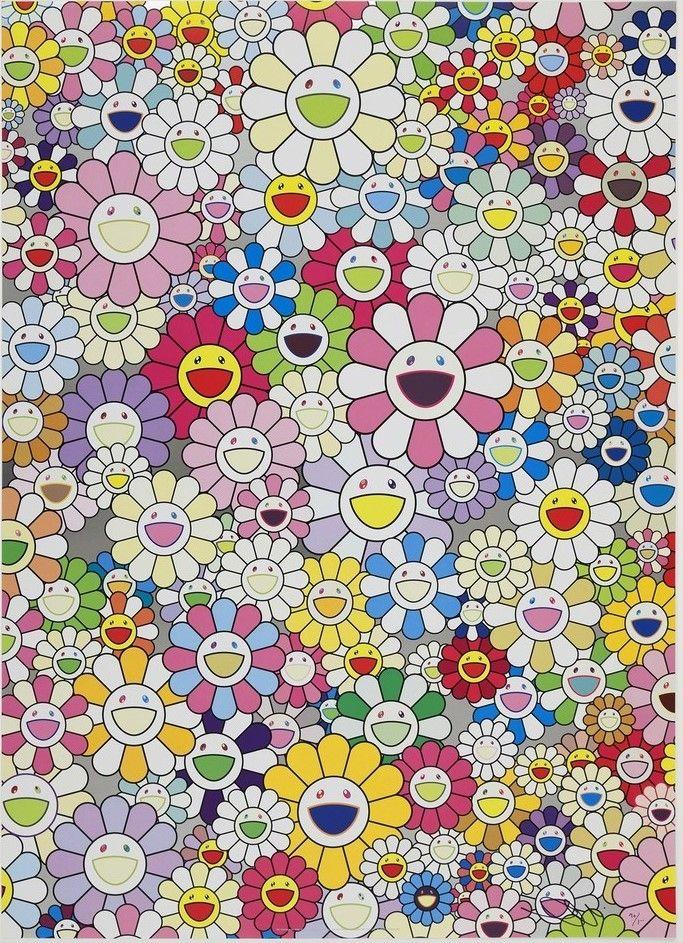 Offset Murakami - An homage to Yves Klein
