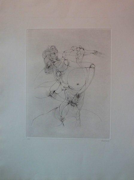 Grabado Bellmer -  Anatomie de l'image