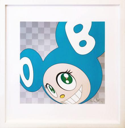 Litografía Murakami - AND THEN . . . (AQUA BLUE)
