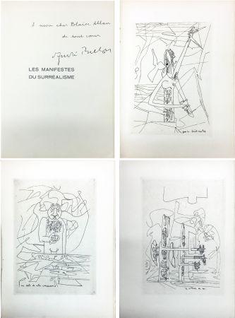 Libro Ilustrado Matta - André Breton : Les Manifestes du Surréalisme suivis de Prolégomènes à un troisième manifeste du surréalisme ou non. Avec 3 pointes-sèches de Matta
