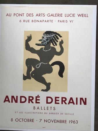 Cartel Derain - André Derain 'ballets '