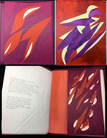 Libro Ilustrado Bazaine - André Frénaud : L'ÉTAPE DANS LA CLAIRIÈRE (1995)
