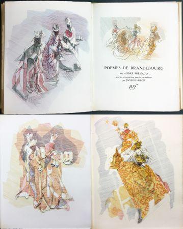 Libro Ilustrado Villon - André Frénaud : POÈMES DE BRANDEBOURG (1947)