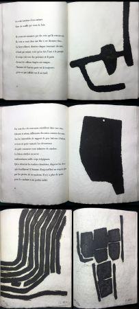 Libro Ilustrado Ubac - André Frénaud :VIEUX PAYS suivi de Campagne (1967). Avec suite signée.