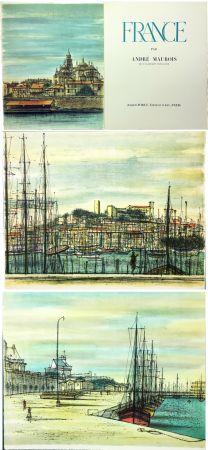 Libro Ilustrado Carzou - André Maurois : FRANCE (1959)