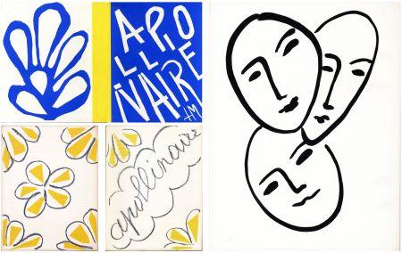 Libro Ilustrado Matisse - André Rouveyre : APOLLINAIRE. 7 lithographies et 1 gravure originales (1952)..
