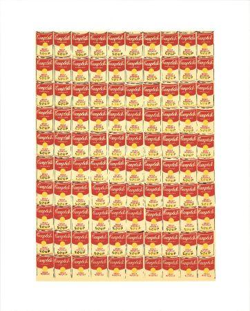 Serigrafía Warhol - Andy Warhol '100 Cans' 1991 Original Pop Art Poster