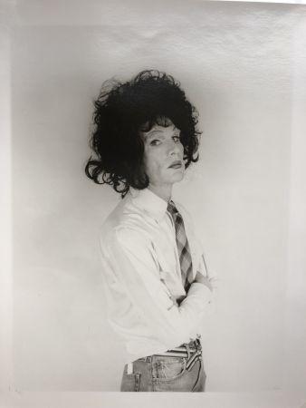 Fotografía Makos - Andy Warhol, dark wig (Altered Images)