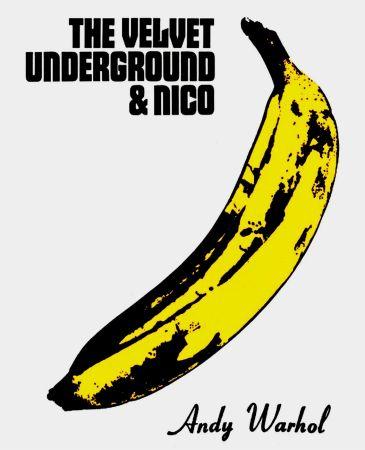 Litografía Warhol - Andy Warhol 'The Velvet Underground & Nico' 1967 Plate Signed Original Pop Art Poster with COA