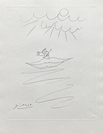 Grabado Picasso - Ange de l'amour