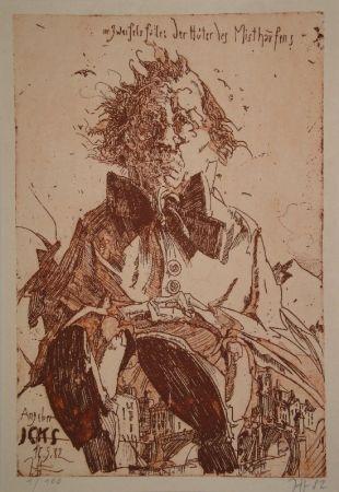 Libro Ilustrado Janssen - Angeber Icks. 1ne Quijoterie (Eine Quijoterie).