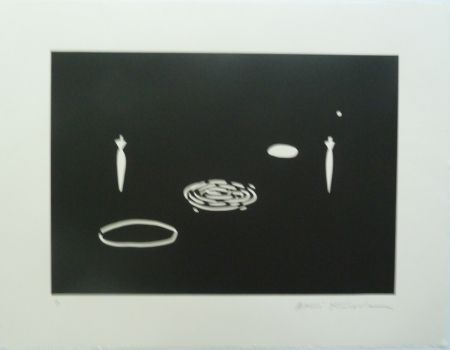 Litografía Kuroda - Angel City II
