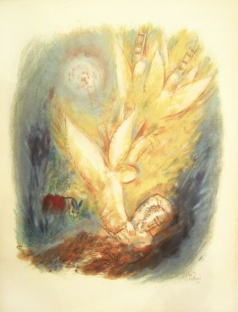 Litografía Rubin - Angels – From the Portfolio Visions of the Bible