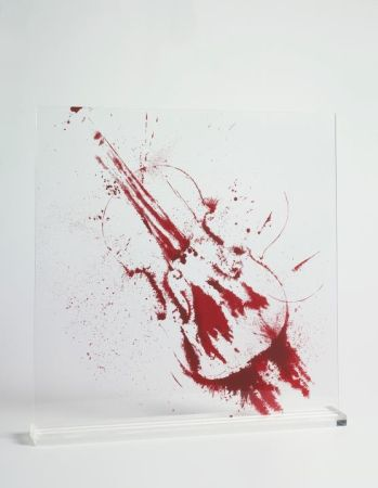 Serigrafía Arman - Angry violin