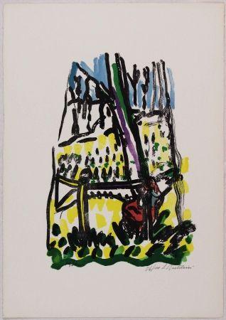 Litografía Bartolini - Anna nei boschi