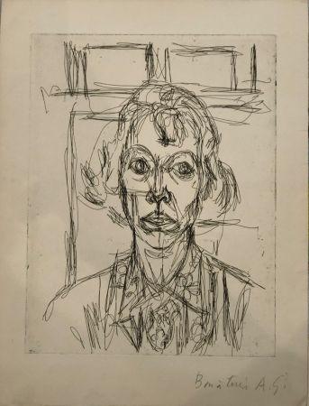 Aguafuerte Giacometti - Annette III