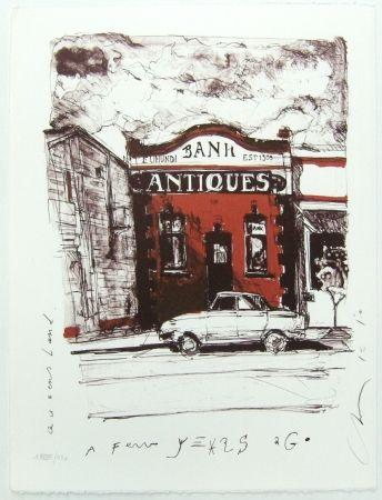 Litografía Couture - Antique