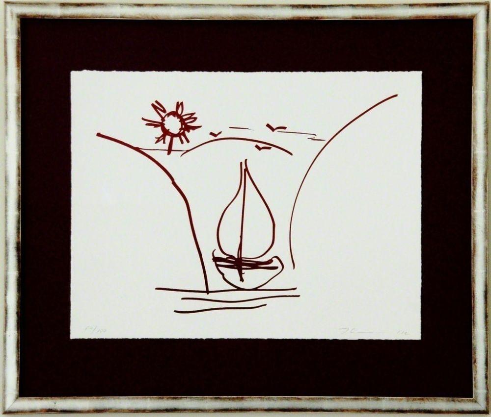 Serigrafía Koons - Antiquity drawing