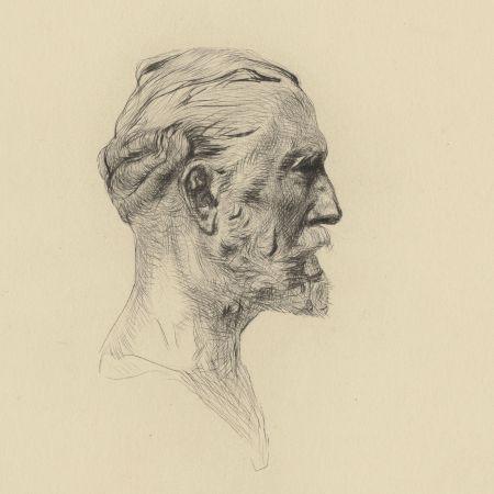 Punta Seca Rodin - Antonin Proust