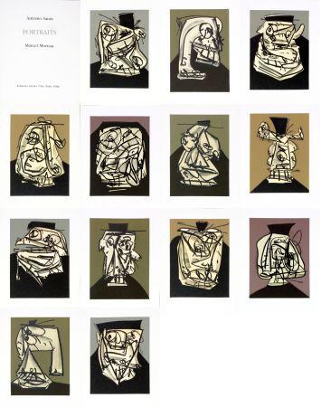 Sin Técnico Saura - Antonio Saura/Portrait/Marcel Moreau/Edtions Atelier Clot