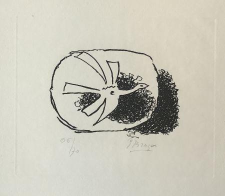 Grabado Braque - Août