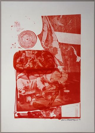 Sin Técnico Rauschenberg - Ape, from Stoned Moon
