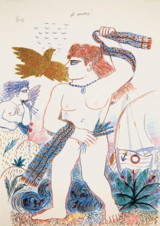 Litografía Fassianos - Aphrodite