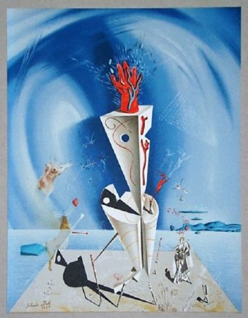 Litografía Dali - Appareil et main