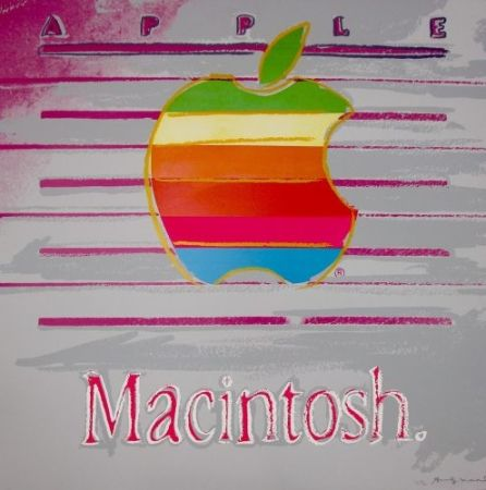 Serigrafía Warhol - Apple (FS II.359) Trial Proof