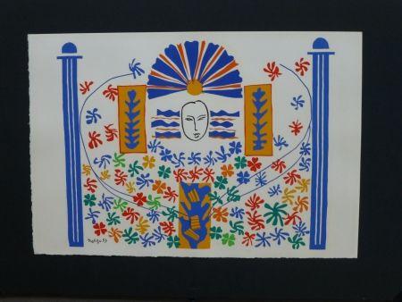 Litografía Matisse - Appolon