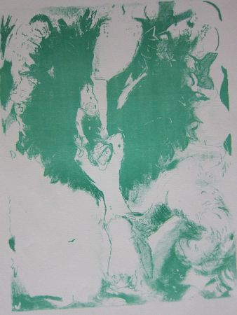 Litografía Chagall - Arabian nights