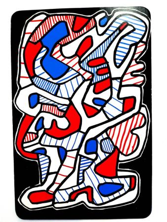 Litografía Dubuffet - Arbre