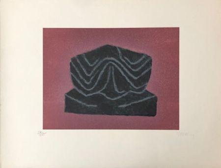 Litografía Ubac - Ardoise