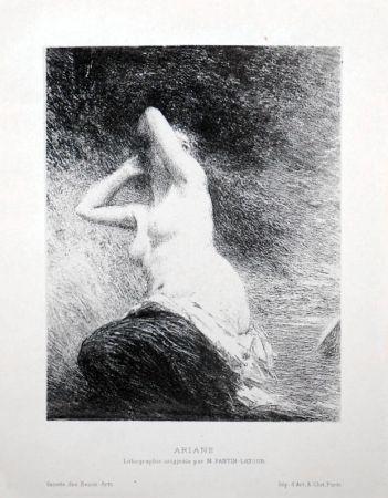 Litografía Fantin-Latour - Ariane