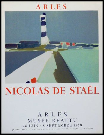 Litografía De Stael - ARLES MUSEE REATTU