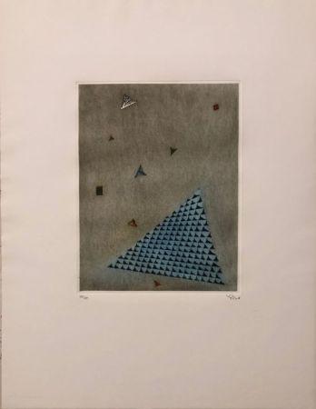 Grabado Piza - Arrangement des triangles
