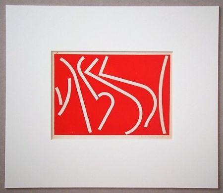 Serigrafía Colla - Arte non-figurativa 1953