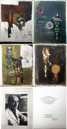 Libro Ilustrado Friedlaender - Arthur Rimbaud. LES ILLUMINATIONS. Les Bibliophiles de Provence 1979