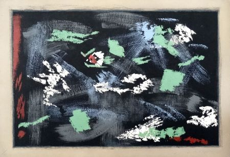 Litografía Masson - Arthur Rimbaud : Une saison en Enfer
