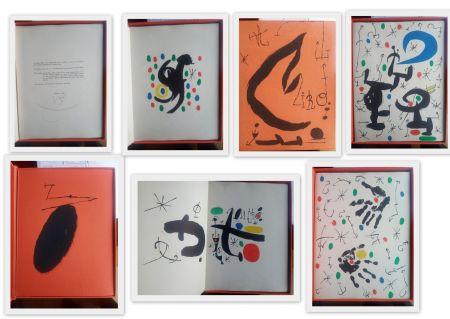 Libro Ilustrado Miró - Artist Book  Les essencies de a terra