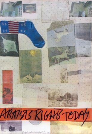 Litografía Rauschenberg - Artist's Rights Today