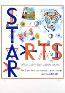 Serigrafía Villeglé - Arts stars