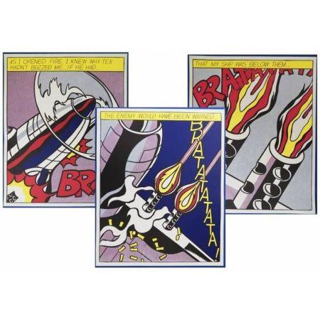 Litografía Lichtenstein - As I opened Fire