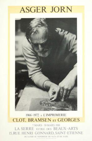Cartel Alechinsky - AsgerJorn à l'imprimerie Clot, Bramsen & Georges